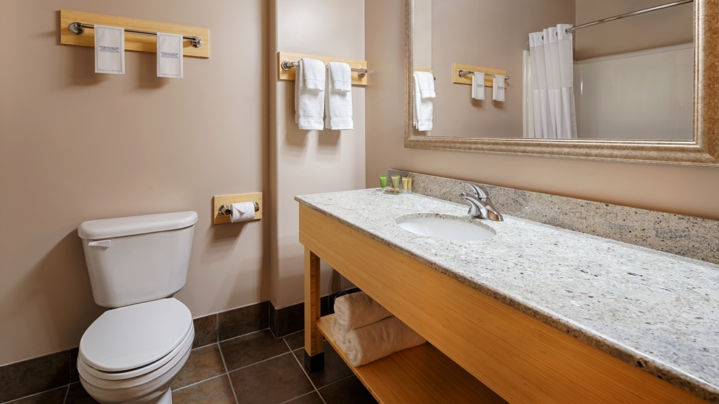 Best Western Sioux Lookout Inn - Guest Bathroom