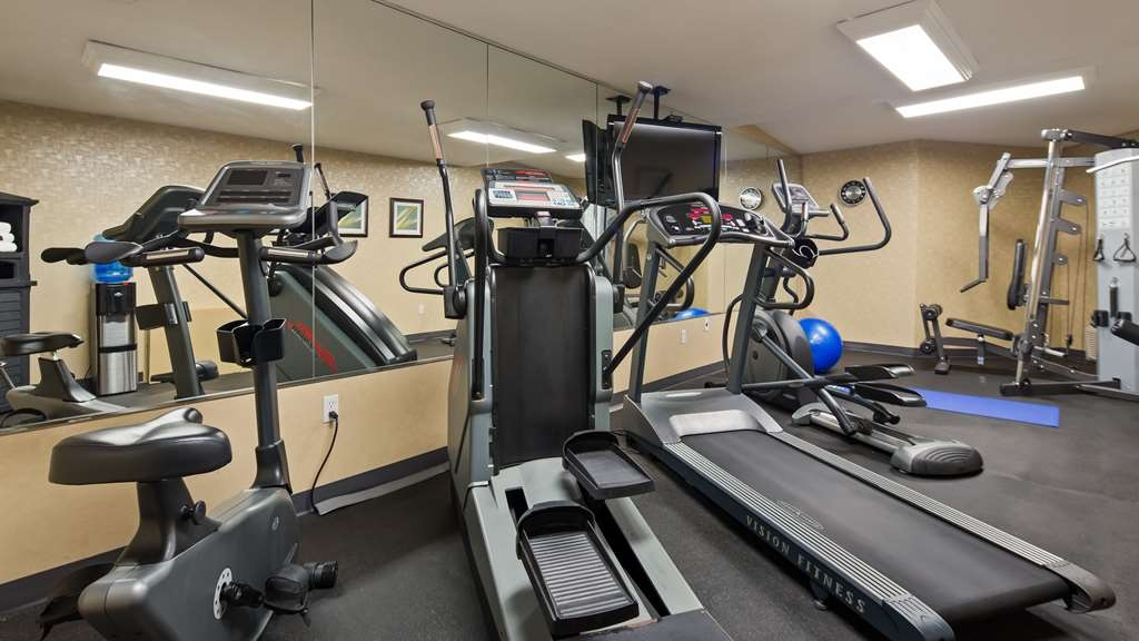 Best Western Plus Durham Hotel & Conference Centre - Enjoy a good work out! We have just the place with five pieces of equipment for you to choose from.