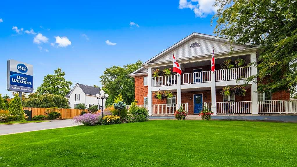 Best Western Colonel Butler Inn - Vista exterior