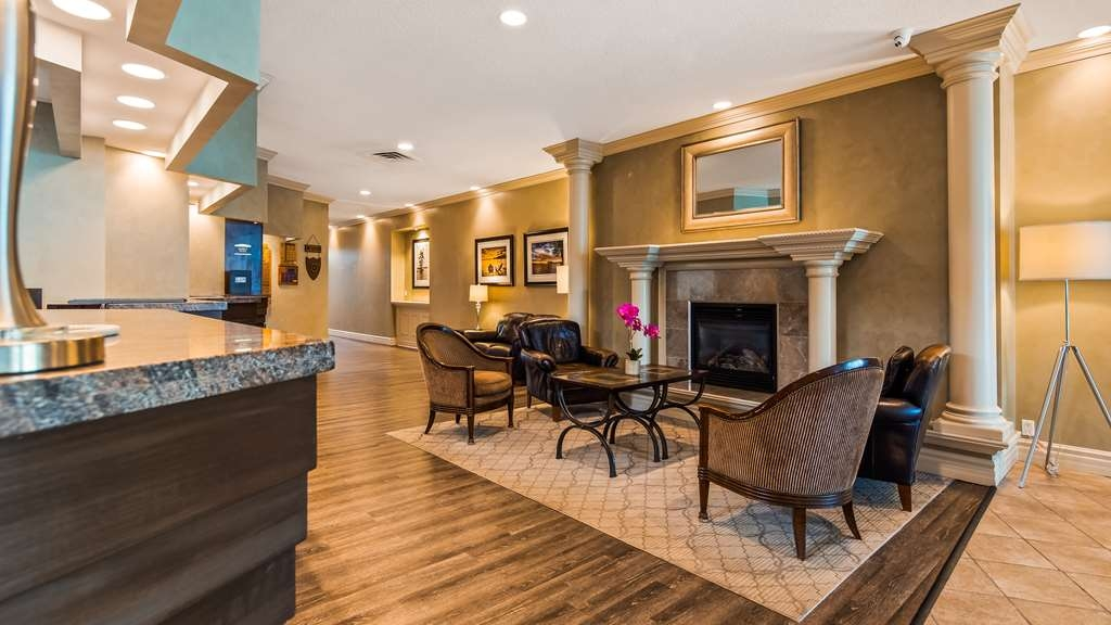 Best Western Plus Mariposa Inn & Conference Centre - Vue du lobby
