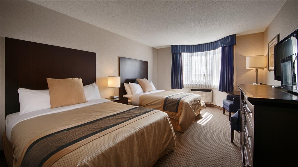 Best Western Milton - This room has two double beds and is ideal for up to 4 people. Cot or playpen is available with a nominal fee.