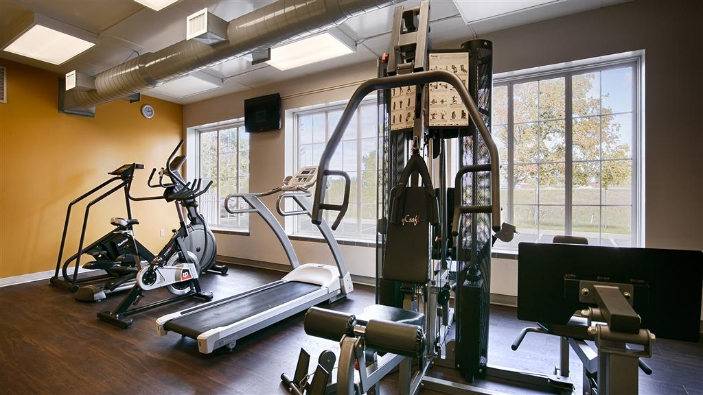 Best Western Milton - Our fitness center offers an elliptical, treadmill, bicycle and universal machine. Stay fit while you're on the road.