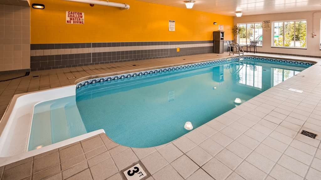 Best Western Milton - Indoor Pool heated salt water pool for your enjoyment.