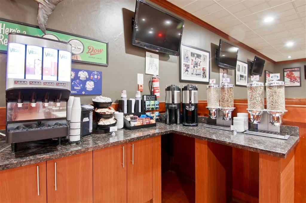 Best Western St Catharines Hotel & Conference Centre - Choose from our coffee and tea selections.