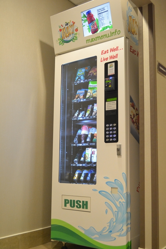 Best Western Plus Fergus Hotel - Take advantage of our new vending machine with detailed nutritious information on all the products.