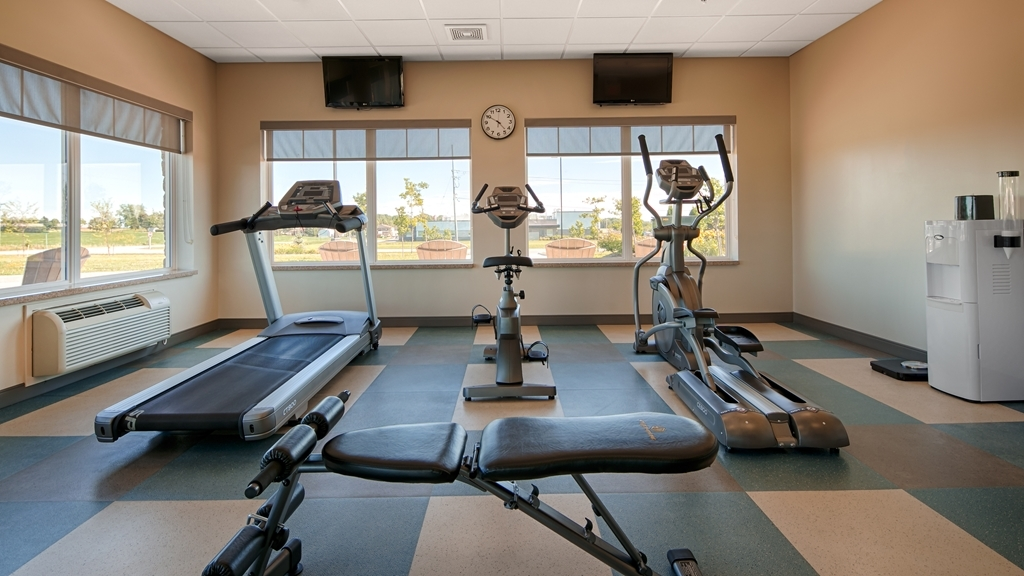 Best Western Plus Walkerton Hotel & Conference Centre - Sala fitness