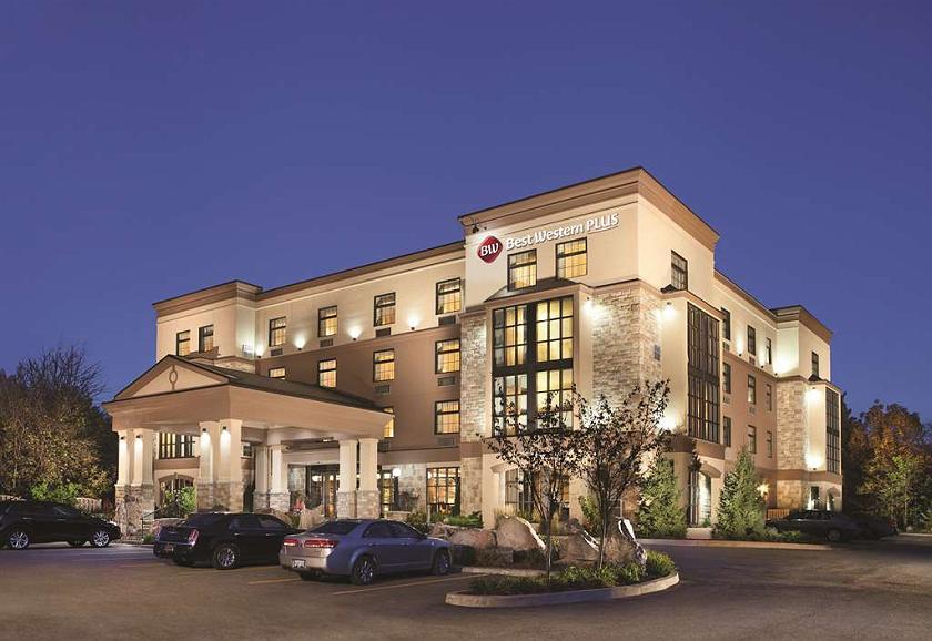 Best Western Plus Perth Parkside Inn & Spa - Außenansicht des Hotels