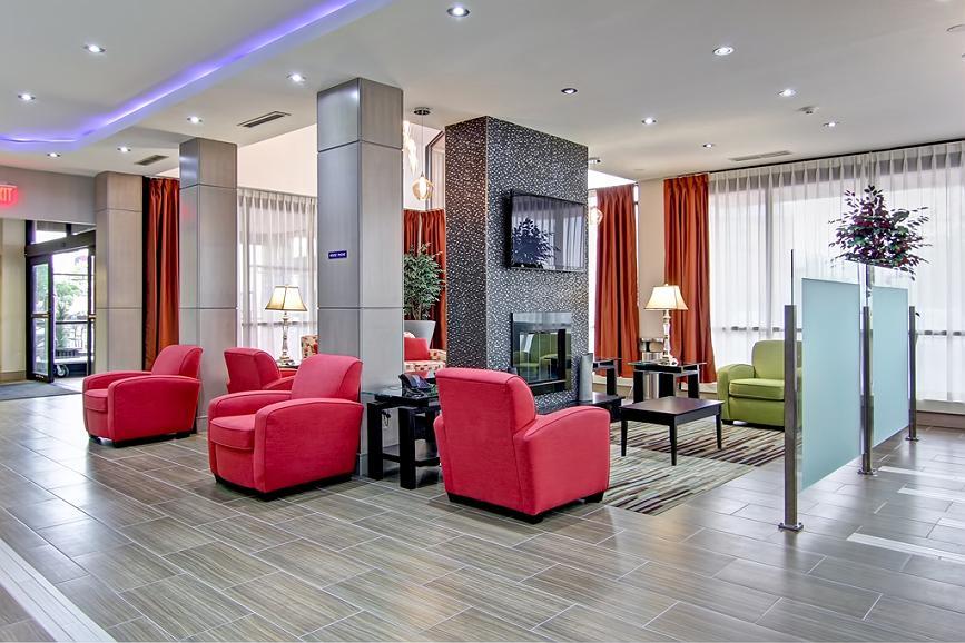 Best Western Plus Toronto North York Hotel & Suites - Vue du lobby