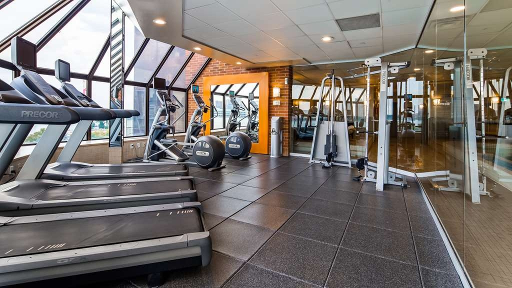 Best Western Plus Waterfront Hotel - Fitnessstudio