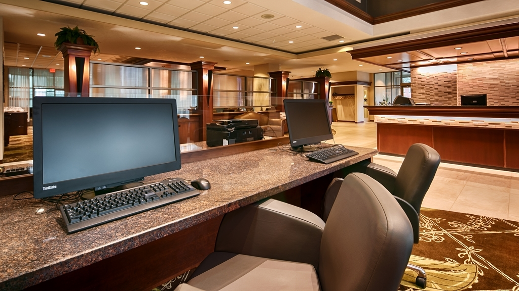 Best Western Plus The Arden Park Hotel - Our business center is available to help you prepare travel itineraries, send emails or browse the web.