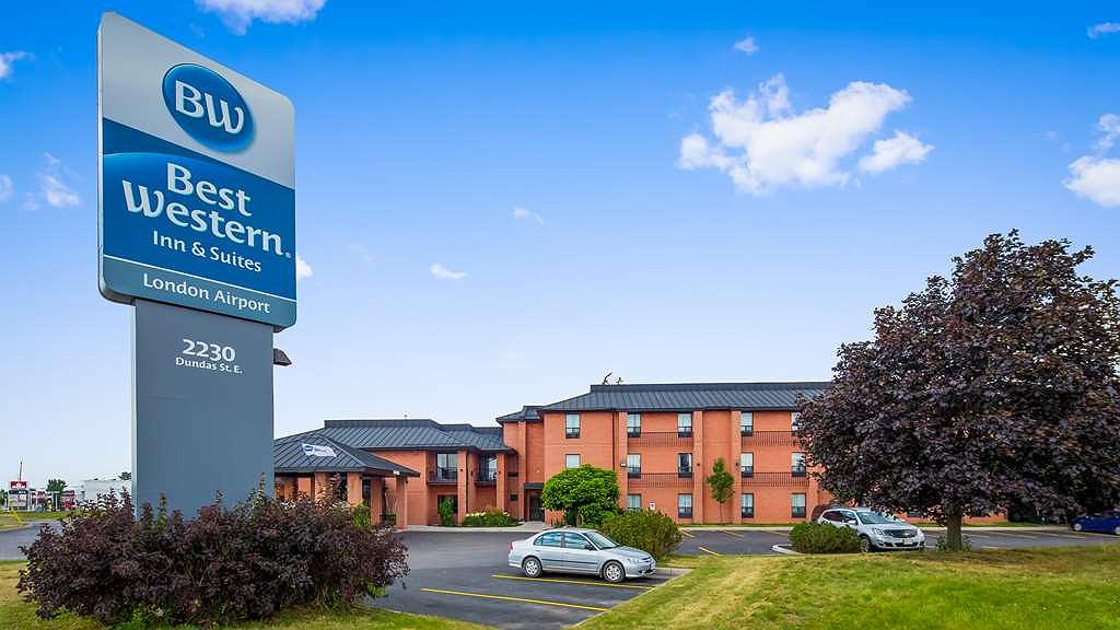 Best Western London Airport Inn & Suites - Vista exterior