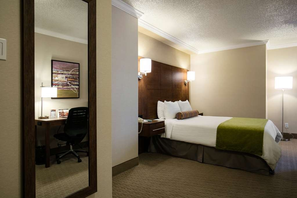 Best Western Ville-Marie Montreal Hotel & Suites - Our deluxe rooms with one queen bed and spacious and comfortable.