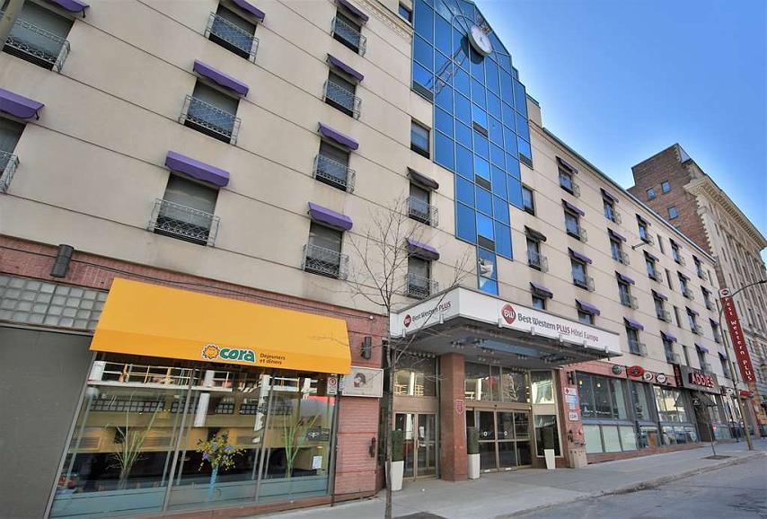 Best Western Plus Montreal Downtown-Hotel Europa - Aussenansicht