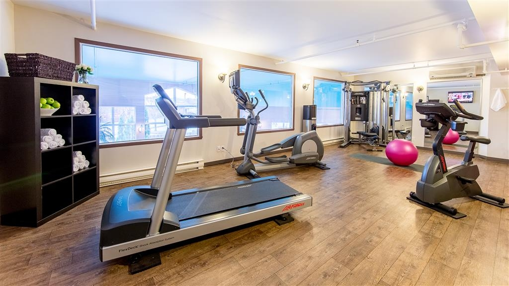 Best Western Hotel Brossard - We have an exercise facility available during your stay from 5:30 a.m. - 10:00 p.m.