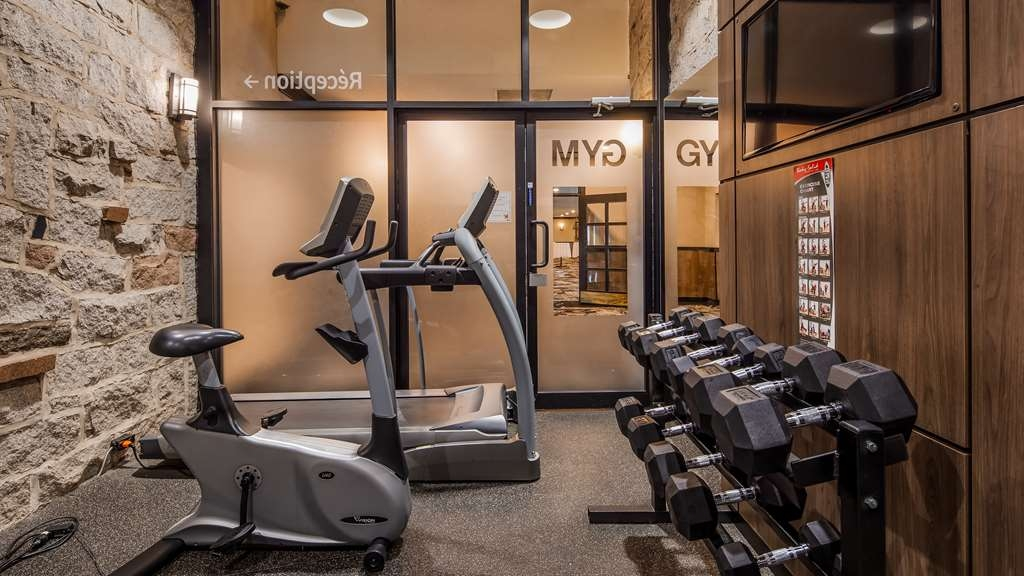 Best Western Hotel Universel Drummondville - Fitness Centre