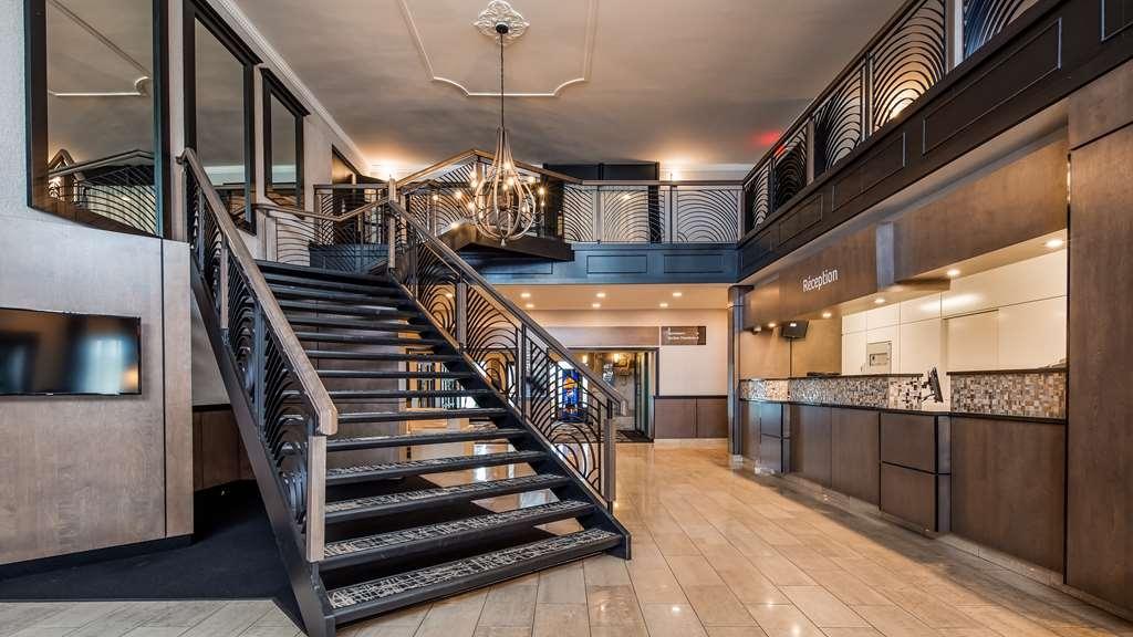 Best Western Hotel Universel Drummondville - Vue du lobby