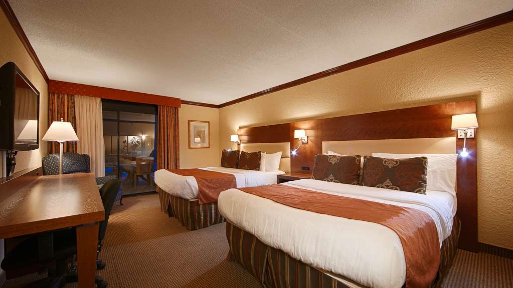 Best Western Hotel Universel Drummondville - two queens standard/suite