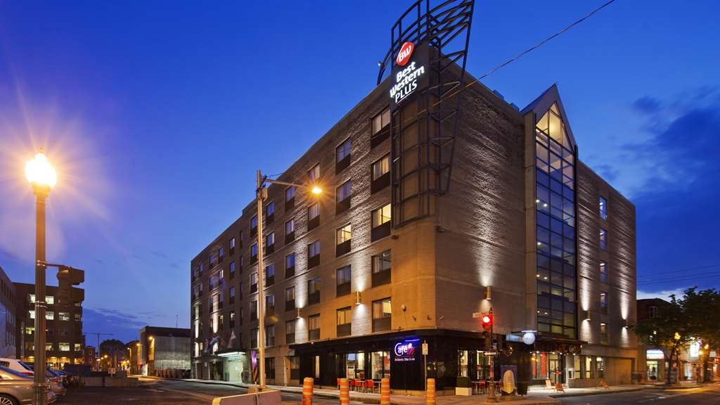 Best Western Plus City Centre/Centre-Ville - Facciata dell'albergo