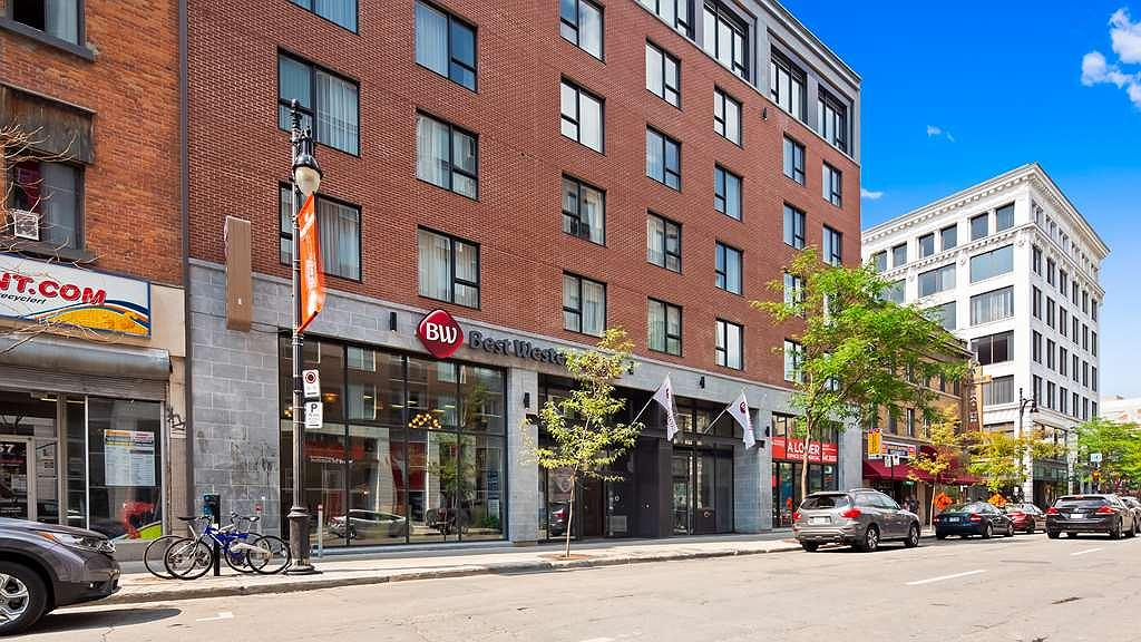 Best Western Plus Hotel Montreal - Façade