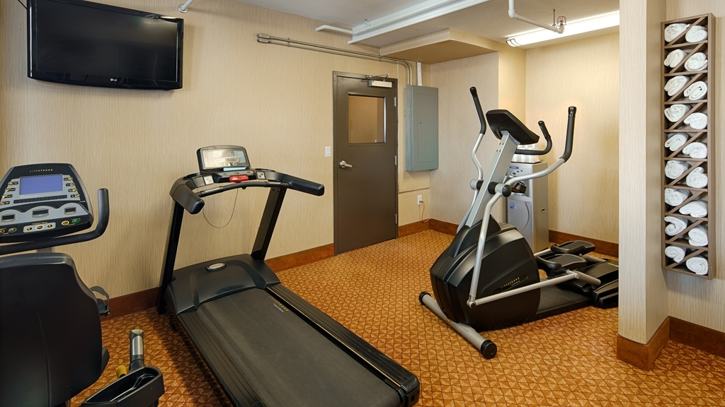Best Western Plus Estevan Inn & Suites - Sala fitness