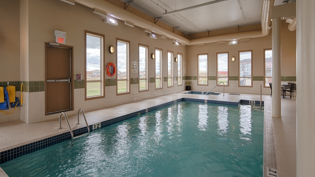 Best Western Plus Moose Jaw - The indoor pool is perfect for swimming laps or taking a quick dip.