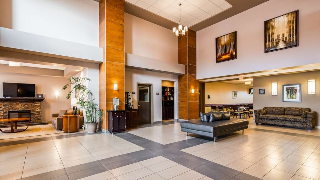 Best Western Plus Moose Jaw - Vue du lobby