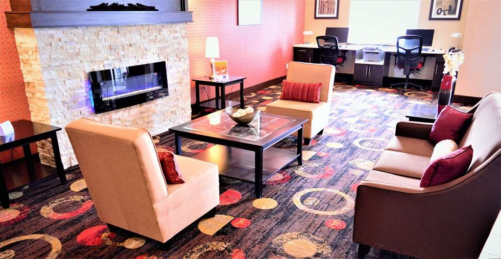 Best Western Plus Kindersley Hotel - Lobby Area