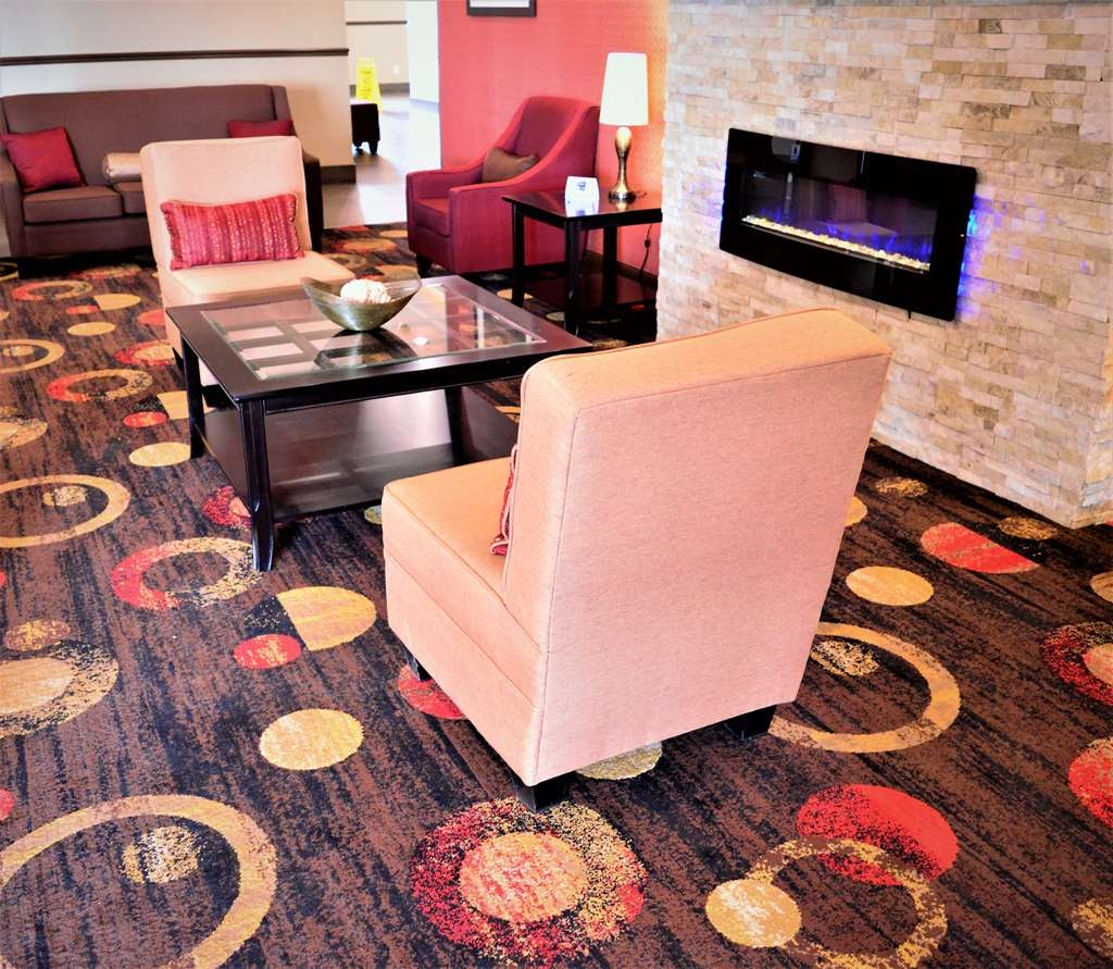 Best Western Plus Kindersley Hotel - Vue du lobby