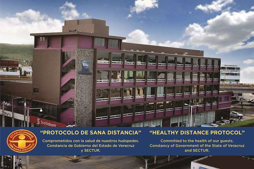 Best Western Hotel Poza Rica - Aussenansicht