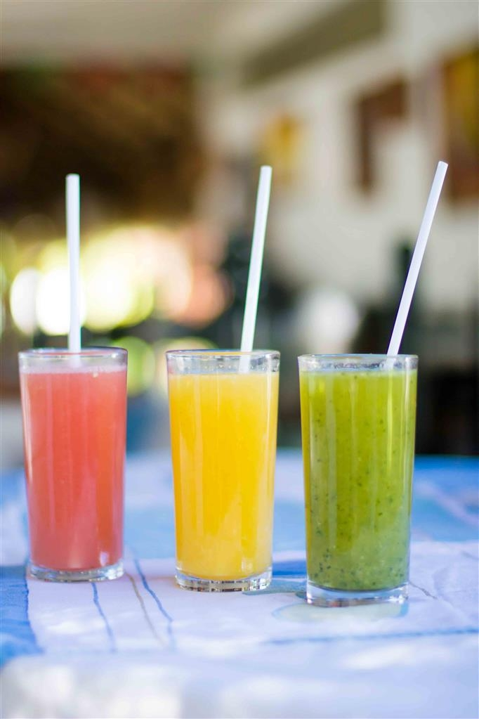 Best Western Posada Chahue - Natural Grapefruit, Orange and Green Juice