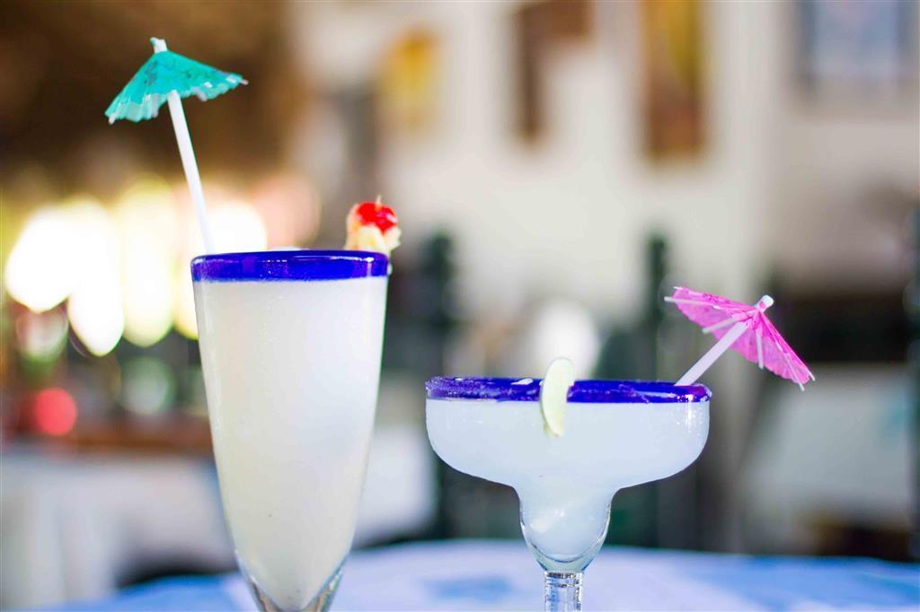 Best Western Posada Chahue - Piña Colada and Margarita Cocktails