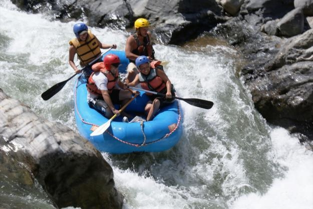 Best Western Posada Chahue - Rafting on the Copalita River