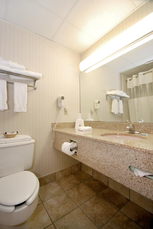 Best Western Executive Hotel of New Haven-West Haven - Gästebad