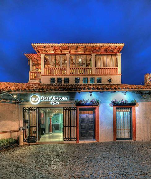 Best Western Taxco - Aussenansicht