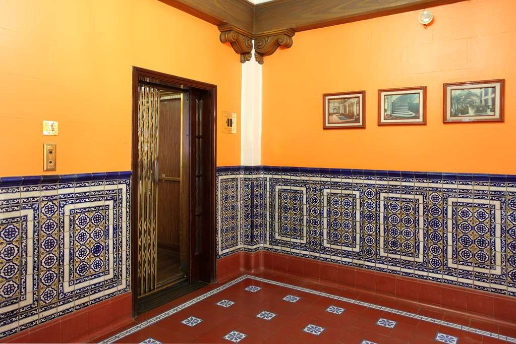 Best Western Hotel Majestic - One of the first 10 manual elevators to reach Mexico.