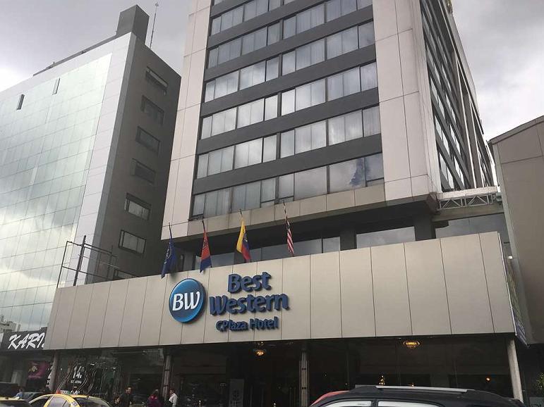 Best Western CPlaza Hotel - Vista exterior