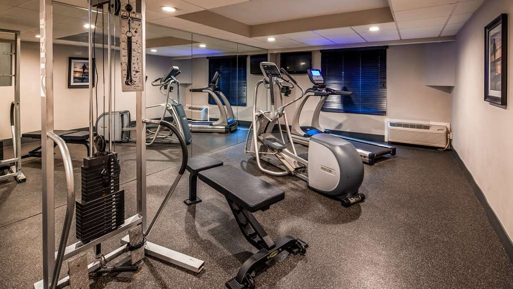 Best Western Hartford Hotel & Suites - Fitnessstudio