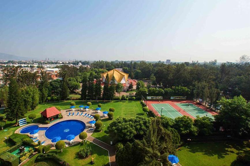 Best Western Plus Gran Hotel Morelia - Aerial View