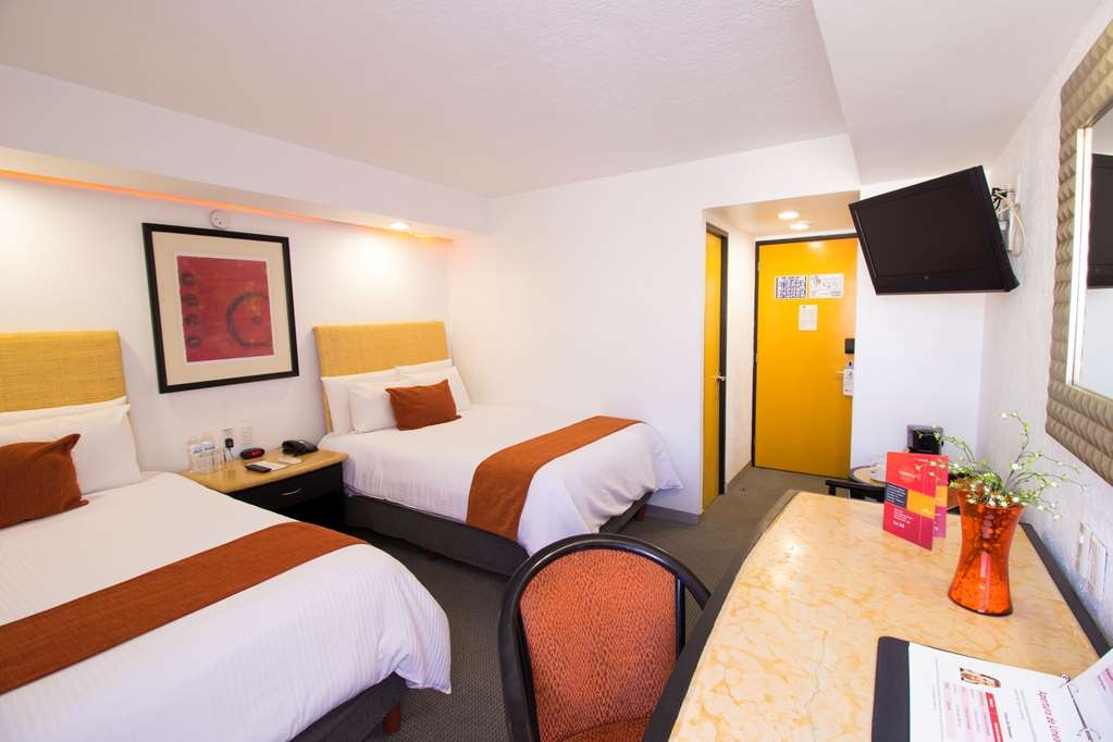 Best Western Plus Gran Hotel Centro Historico - Standard double room with two beds