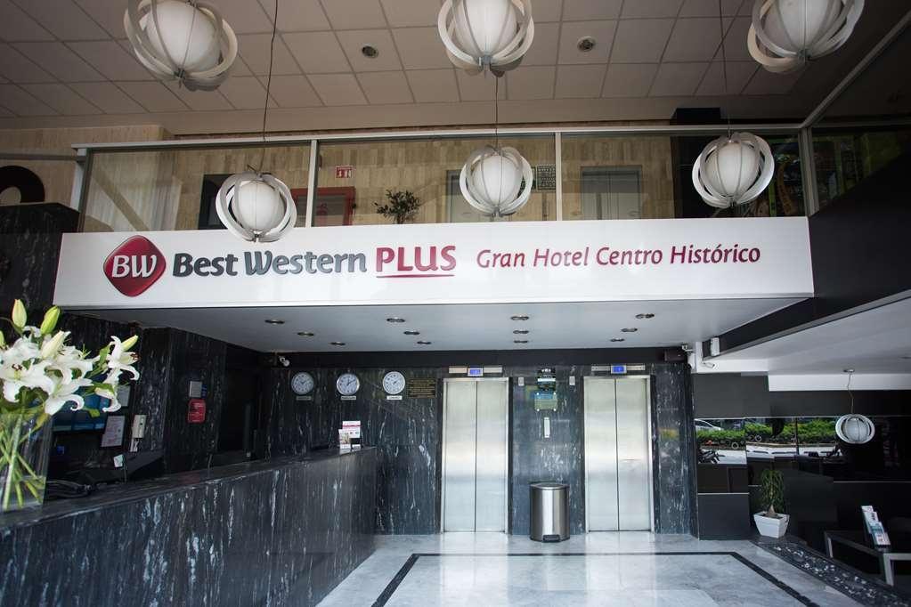 Best Western Plus Gran Hotel Centro Historico - Reception