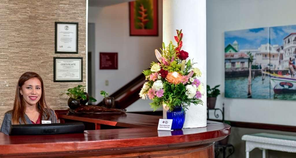 Best Western Plus Belize Biltmore Plaza - Réception