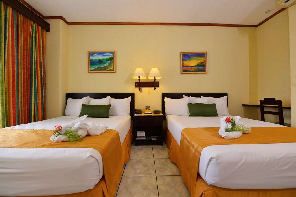 Best Western Hotel & Casino Kamuk - Superior Rooms, two double beds.
