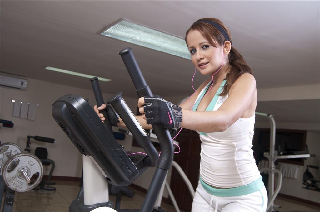 Best Western Las Mercedes - Fitnessstudio