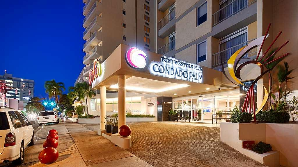 Best Western Plus Condado Palm Inn & Suites - Located in the heart of the exclusive Condado district, there is an array of restaurants, countless shops and an exhilarating nightlife!