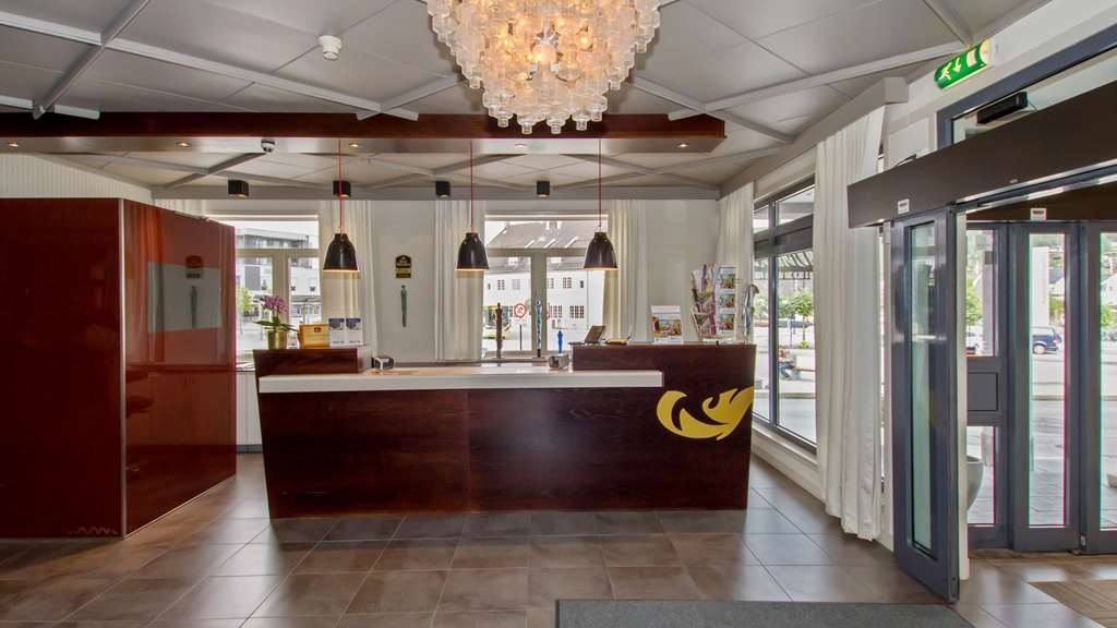 Best Western Plus Gyldenlove Hotell - Reception