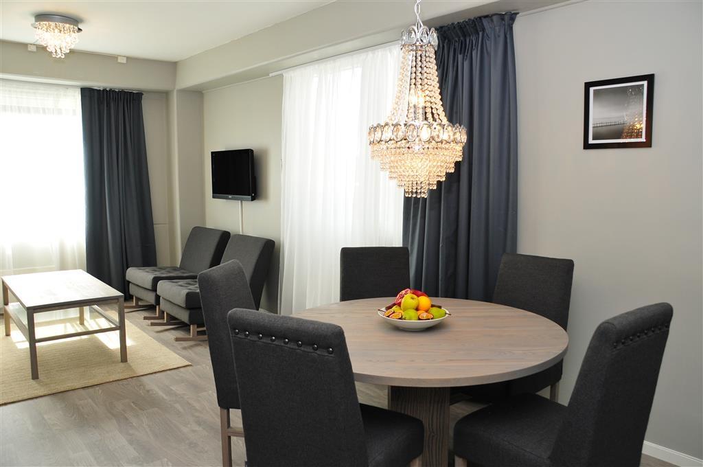 Best Western LetoHallen Hotel - Area soggiorno della suite