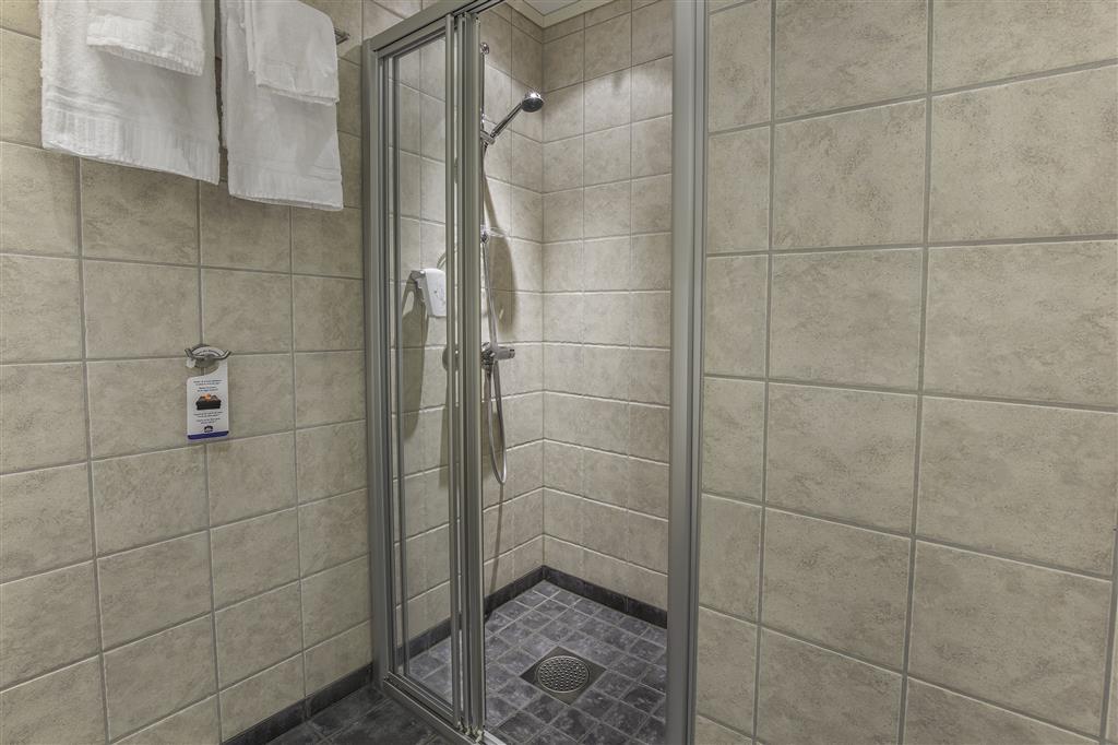 Best Western LetoHallen Hotel - Bagno della camera standard