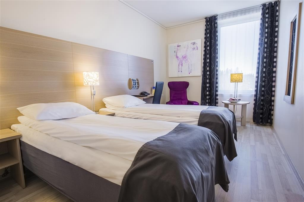 Best Western LetoHallen Hotel - Camera standard con letto matrimoniale
