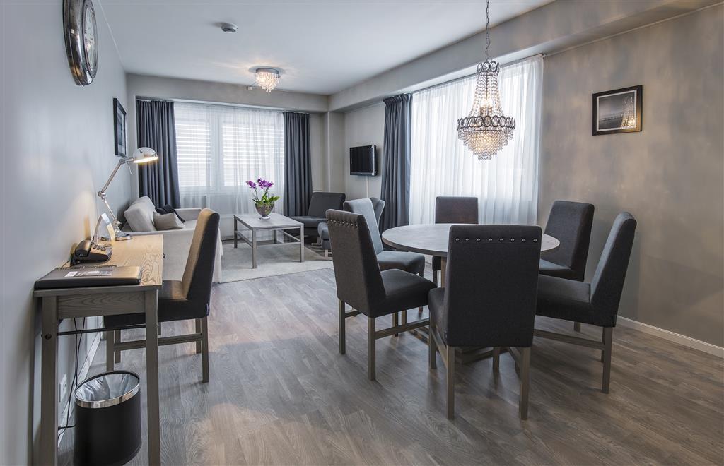 Best Western LetoHallen Hotel - Soggiorno della suite