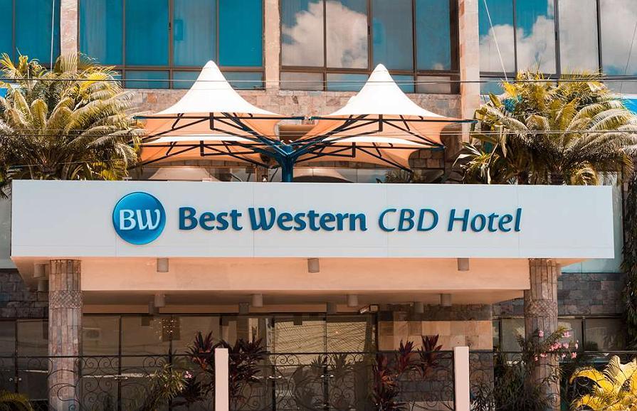 Best Western CBD Hotel - Façade